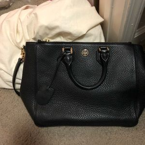 Tory Burch Pebbled Leather Robinson